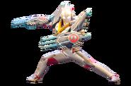 Ultraman X Gomora Armor Render 2