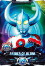 Ultraman X Father of Ultra Card