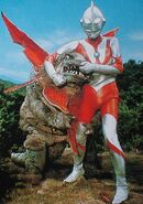 Gabora vs Ultraman