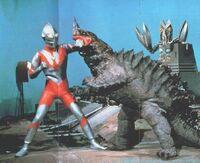 Ultraman vs Neronga & Alien Baltan