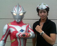 Shunji with Mebius