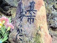 Shinichi's grave