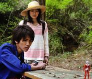 Misuzu with Hikaru and Taro SD