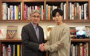 Saburo Shinoda with Yuki Inoue