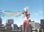 Taro fires Storium Ray in Mebius