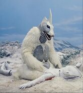 Snowgon vs Frozen Ultraman