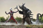 Tiga VS Tyrant Ginga Cap