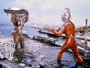 Ultraseven vs King Joee