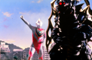 King of Mons v Ultraman Gaia I