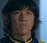 Takeshi's face