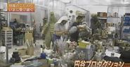 Behind the Scenes in the Tsuburaya Workshop
