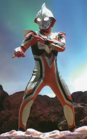 Ultraman Nexus red