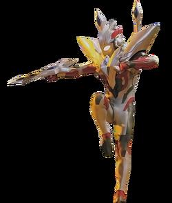 Ultraman X Ultraman Zero Armor Penuh