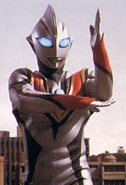 Evil Tiga ready to beam