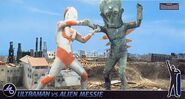 Ultraman Jack vs Alien Messie