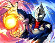 Ultraman Tiga Force Ball