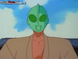 Ranma Ultraman mask