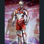 Ultraman manga suit