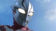 Imitation Ultraman Mebius smiles