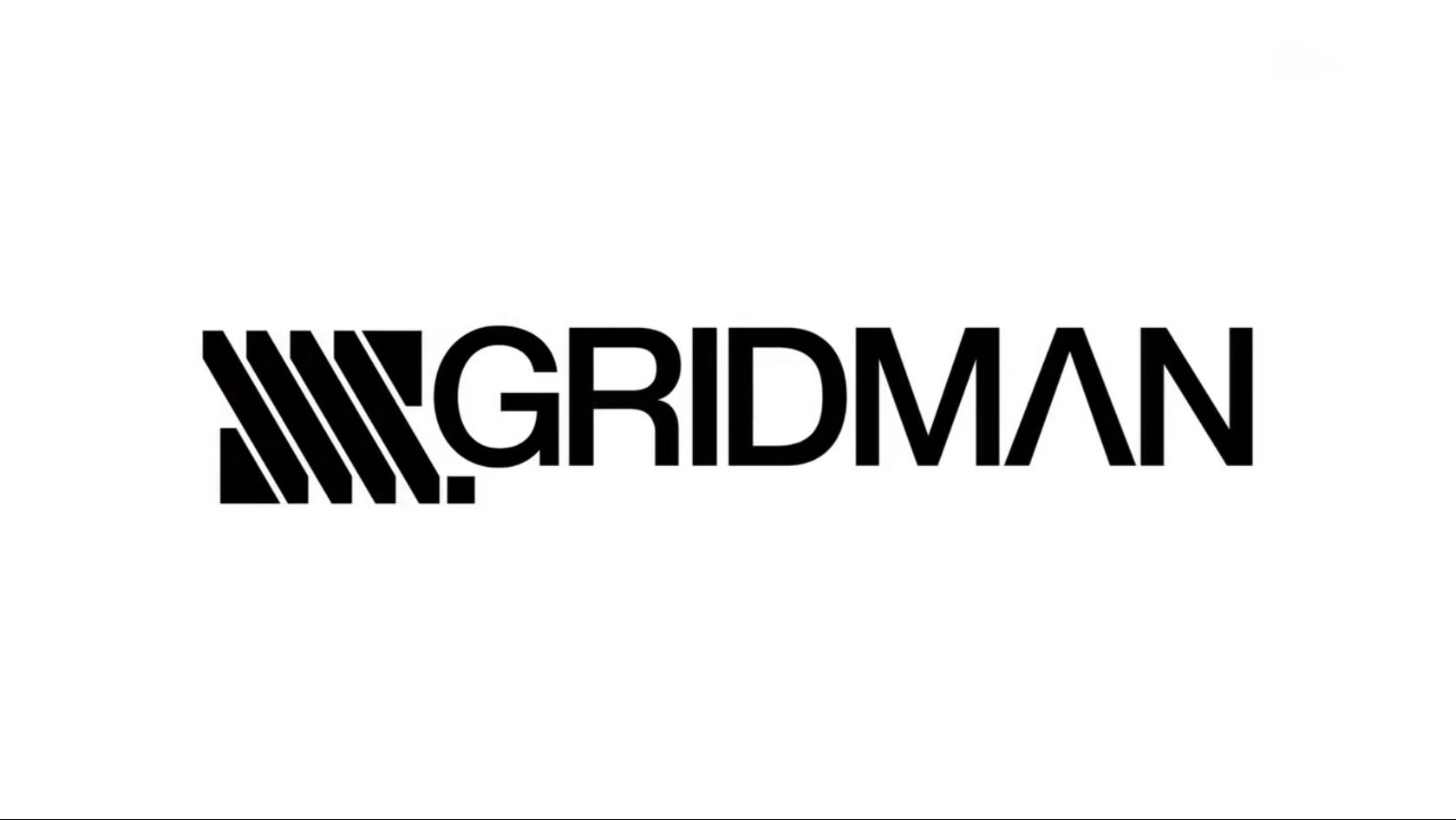 SSSS.GRIDMAN タイトルロゴ