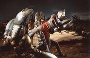 Ultraman vs 2 Baltan
