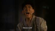 Katsuto training himself