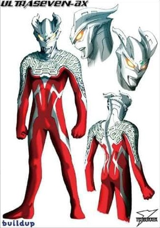 Ultraseven AX (Zero's earlier design)