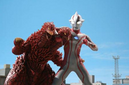 King Pandon v Ultraman Mebius