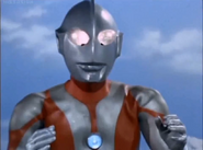 Ultraman's Type C first apperance in ep 30
