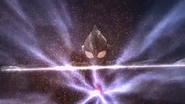 Tiga - Tsubasa uses Zepellion Ray