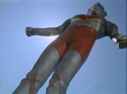 Ultraman defeated by Z-Ton