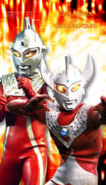 Ultraseven and Taro pic