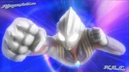 Ultraman Tiga's grunts and sound effects in The Final Odyssey