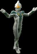 Ultraman Zero Mirror Knight Render