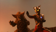 Gomora and Ultraman Zero v