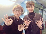 Takuya Negishi and Koichi Yamadera