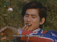 Kotaro receives a report from ZAT