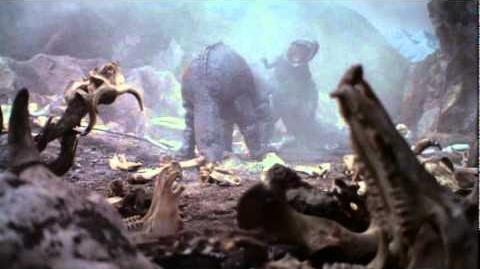 Giant Tyrannosaurus vs. Giant Triceratops-0