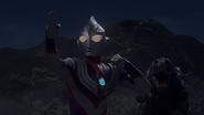 Tsubasa ready to fight his last battle as Tiga