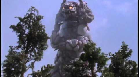 Silvergon vs Gagi and Ultraman Tiga-0