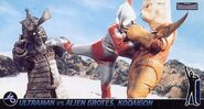 Ultraman Jack vs Alien Grotes Kodaigon