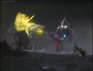 Tiga kicks Gatanothor
