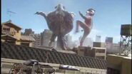 Ultraman Mebius & Hunter Knight Tsurugi vs
