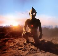 Ultraman-Jack-Sunset