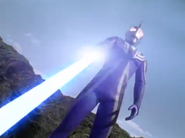 Agul uses Agul Saber the first time