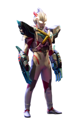 Ultraman X Gomora Armor Render 4