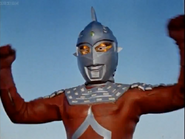 Ultraseven's first appear in Earth
