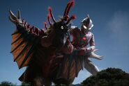 Mebius vs Birdon
