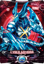 Ultraman X Cyber Gomora Card Alternate Cover 2