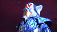 Armored Mephilas say to Zero that the person use Armored Darkness is